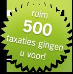 Ruim 500 taxaties gingen u voor !